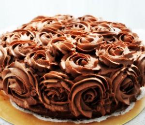 کیک تولدشکلاتی