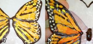 طرزتهیه پروانه شکلاتی تزیین کیک