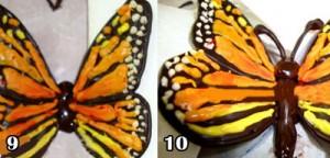 اموزش پروانه شکلاتی زیبا