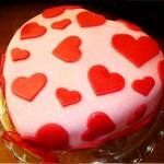 اموزش تزیین کیک قلب