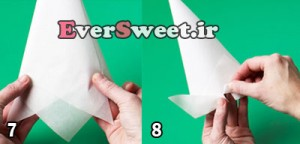 نحوه درست کردن قیف کاغذی