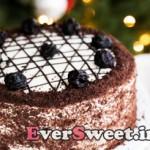 کیک عسل و آلو