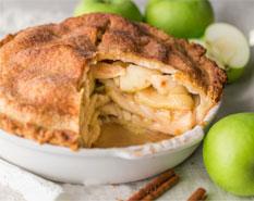 طرزتهیه پای سیب و دارچین
