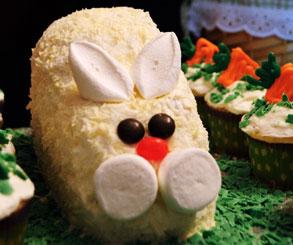 تزیین کیک مدل خرگوش