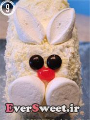تزیین کیک تولد مدل خرگوش