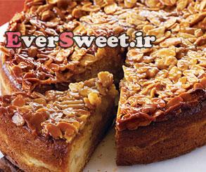 طرزتهیه کیک بادام