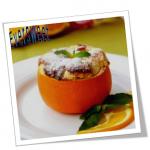 دسر فرانسوی سوفله پرتقال
