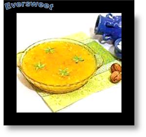 دسر مسقطی با بهار نارنج
