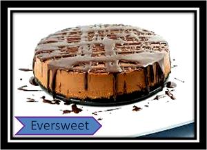 چیز کیک شکلاتی باسس شکلات