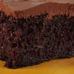 کیک موزی شکلاتی